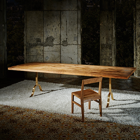 TEAK HGH / TABLE